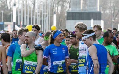 1.Platz beim Frankfurt Halbmarathon