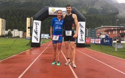 Sieg beim St.Moritz Triathlon