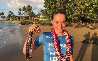 Podium bei der XTerra WM auf Maui