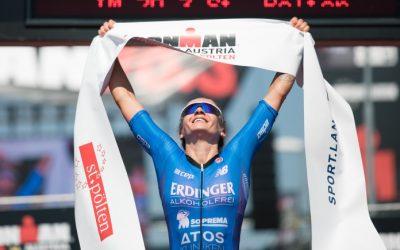 Sieg beim Ironman 70.3 in St. Pölten