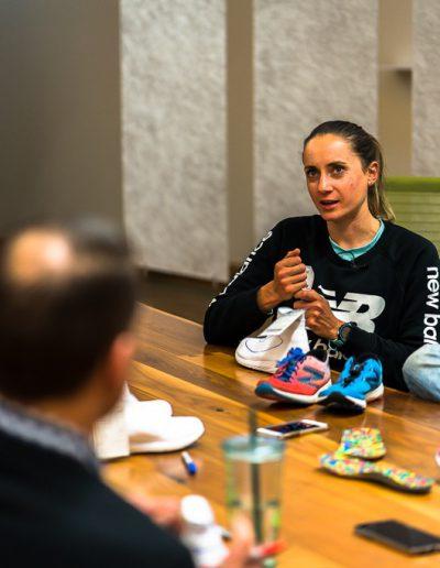 New Balance Schuhe Laura Philipp Laufen Analyse Boston