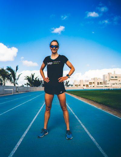 Laura Philipp IronMan Training